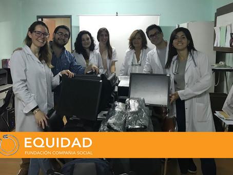 DONACIÓN AL SERVICIO DE REUMATOLOGÍA DEL HOSPITAL SAN MARTÍN DE LA PLATA