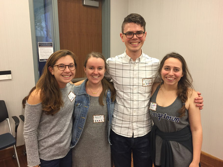 New Alum Reflects on a Year at Georgetown