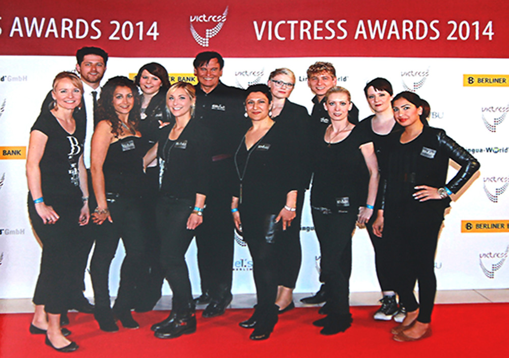 Team db beim Victress Awards 2014