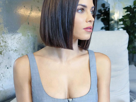 Neue Haartrends: Glass Hair & Super-Bob