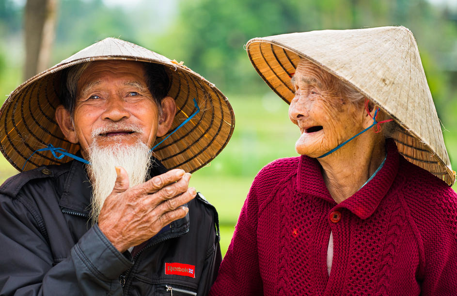 "Peter Winik, ""Vietnamese Farming Couple"""