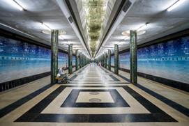 """Riding the Metro in Tashkent, Uzbekistan"" (2020)"