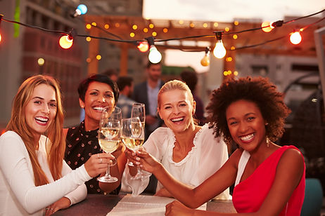 Girlfriends drinking wine.jpg
