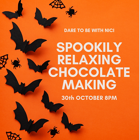 Spookily Relaxing Chocolate Making