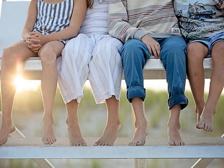 peace, love & sandy feet