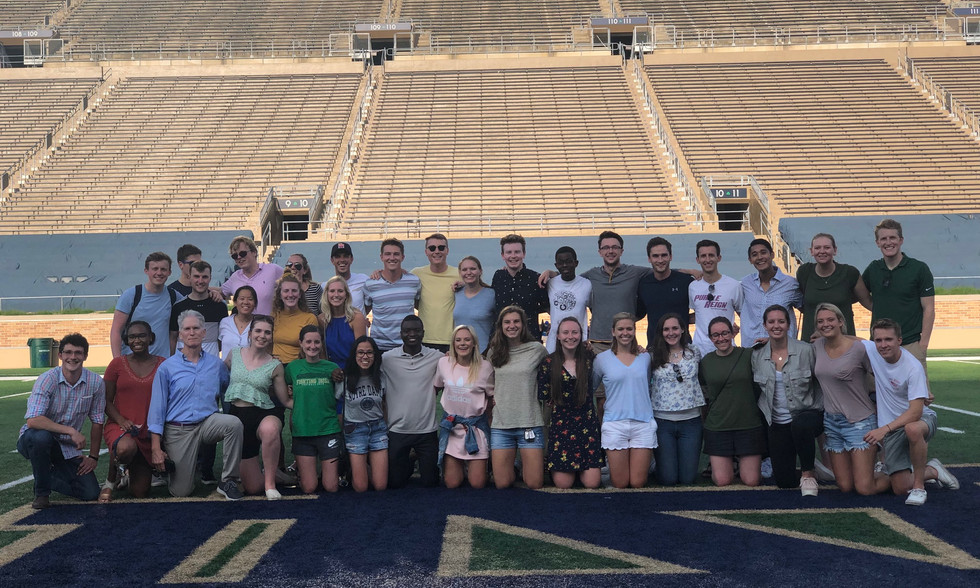 56 Fellow Students at Notre Dame