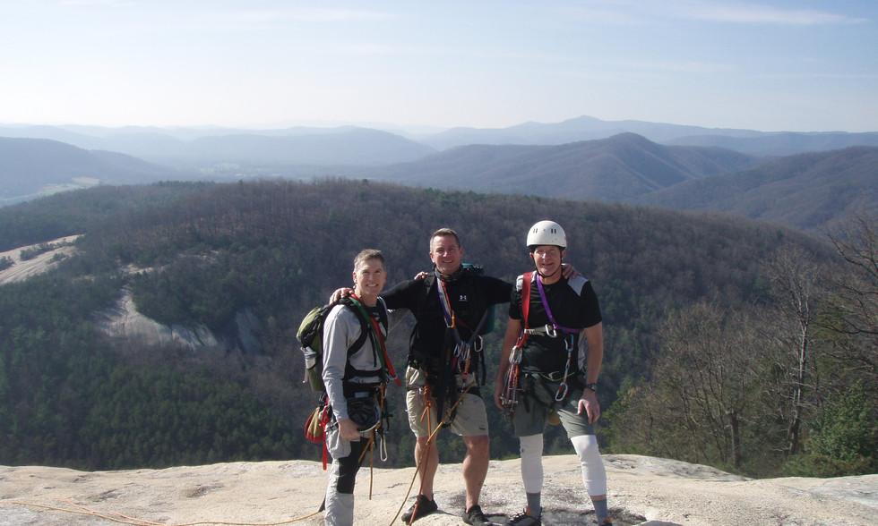 Table Rock, NC Climb 2009