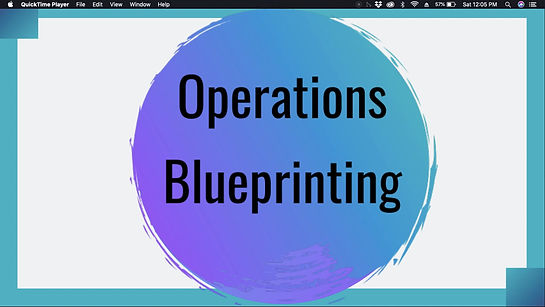 Operations Blueprinting