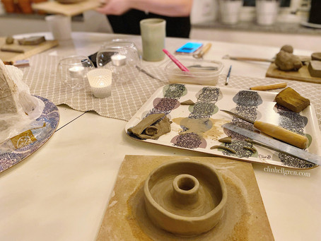 Måndag, ny vecka & keramik