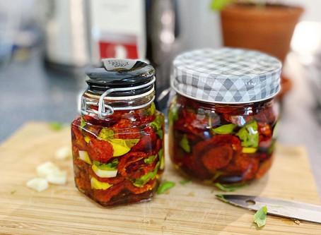 Egna soltorkade tomater