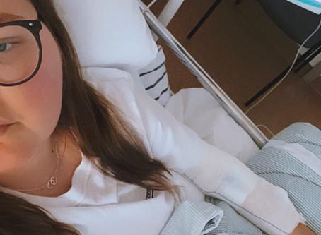 2 veckor på sjukhus