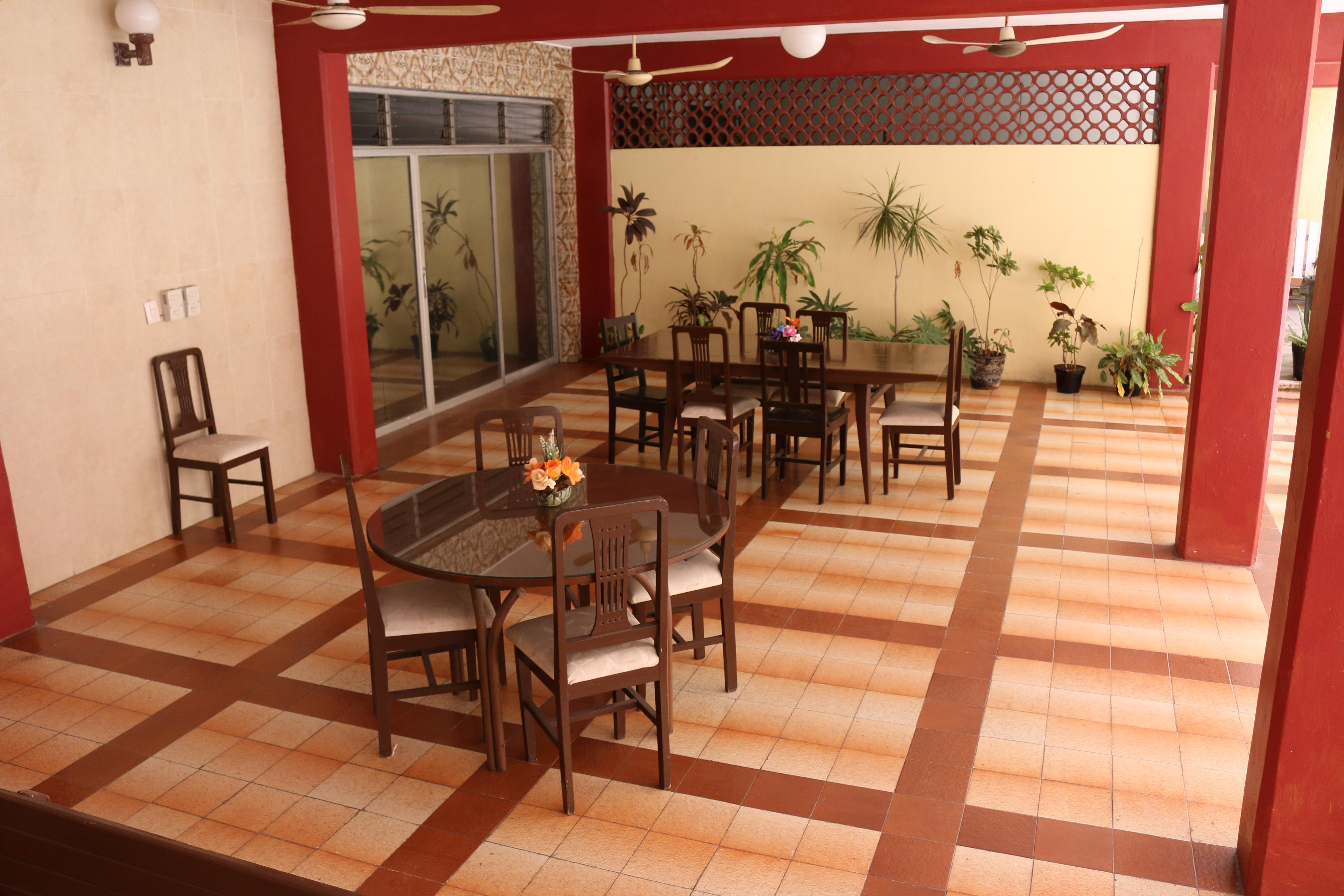Hotel Géminis Champotón - Terraza