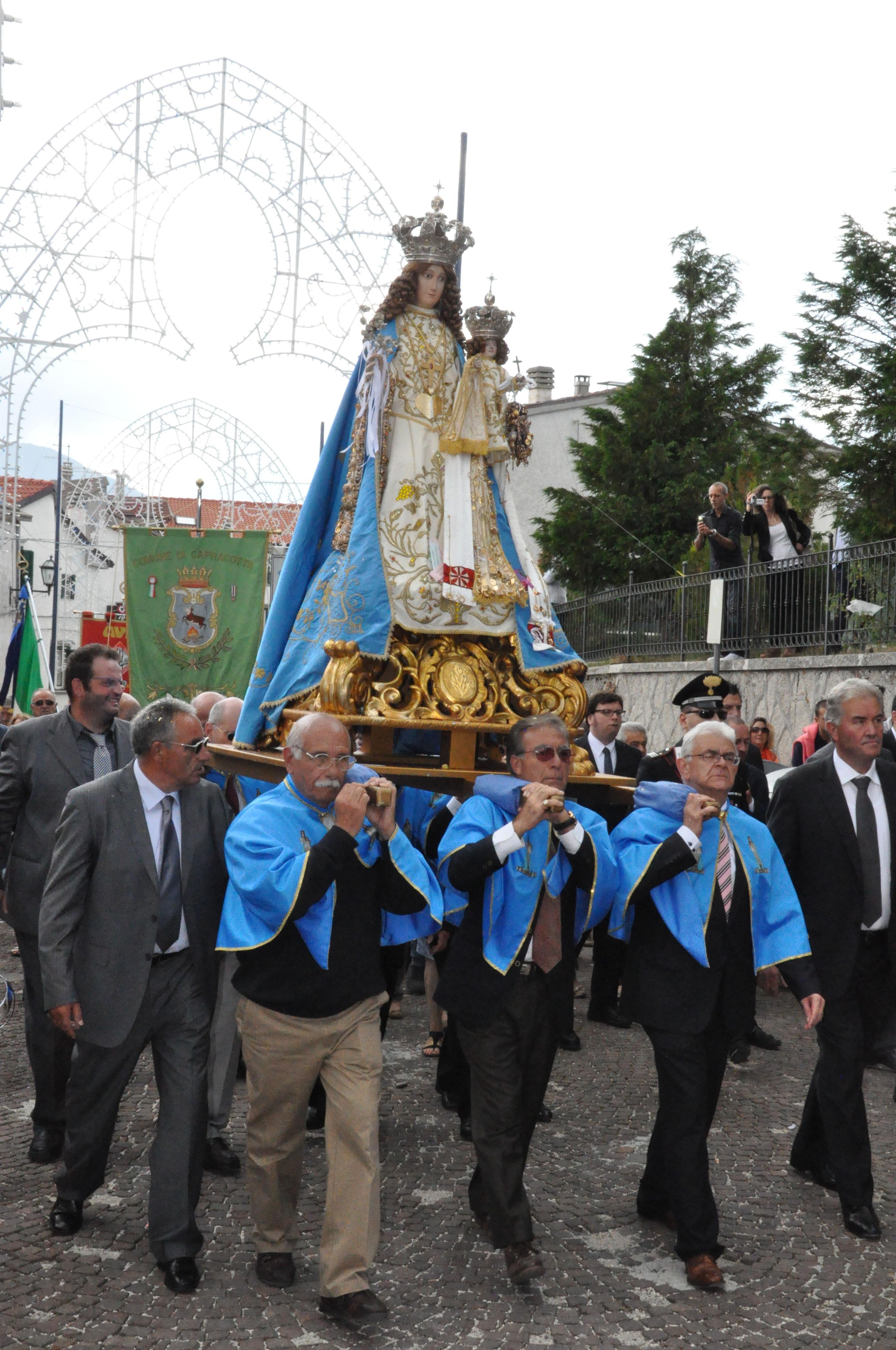 Festa Madonna Di Loreto Capracotta