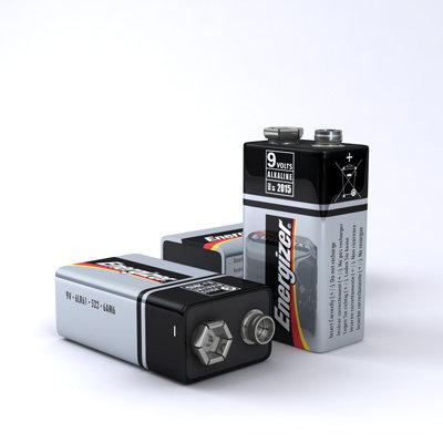 Energizer 9 volt Batteries / 12 or 72 packs