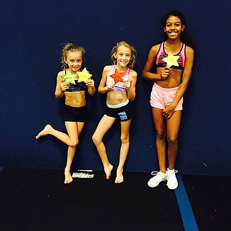 Four new tumbling skills for Rock N Pop athletes tonight at Choreography!