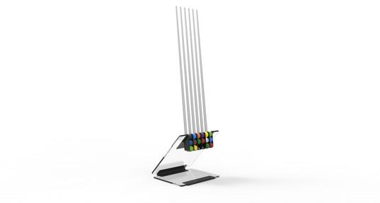 Ultra Modern Cue Stand