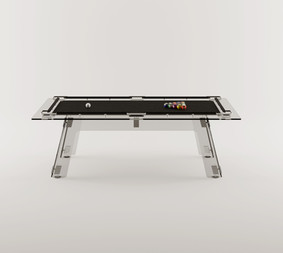 P3 All-Glass Pool Table