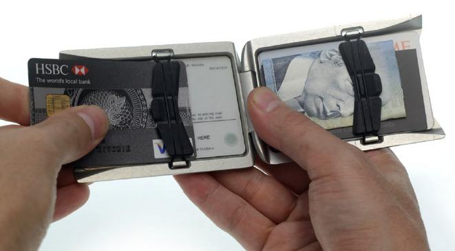 Unobtainium Aluminium Wallet