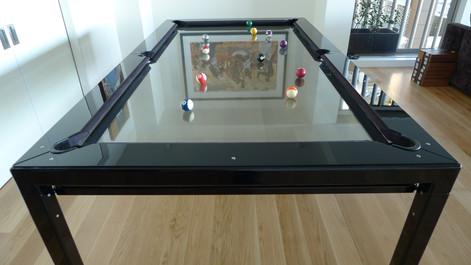 G-4 Glass Pool Table
