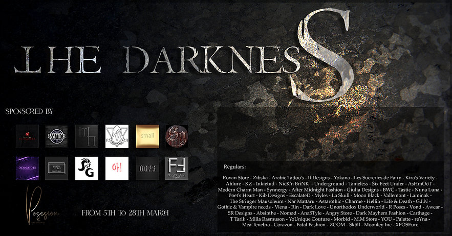 The Darkness Event Poster - March Round.