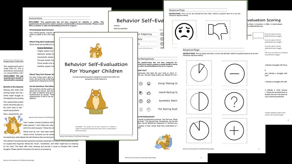 Behavior Self-Evaluation for Children