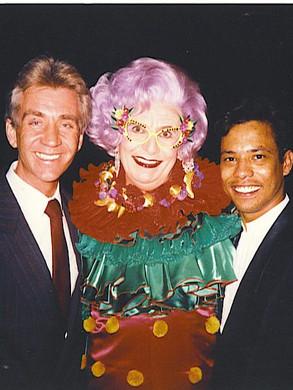 Met Dame Edna