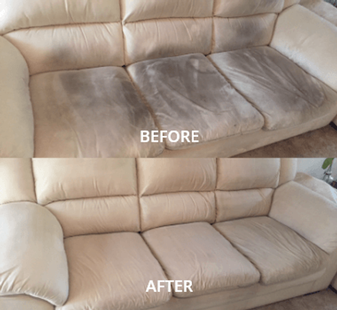 Sofa Before After
