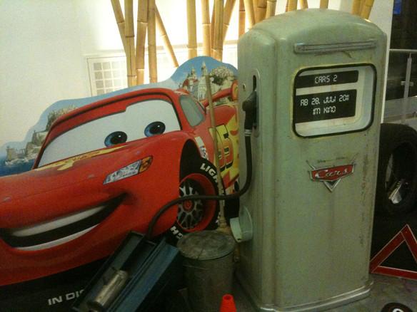 Cars Tanksäule