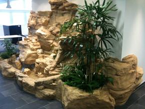 Wasserfall im Büro