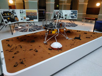 Mars Lander Display ETH Zürich