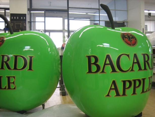 Bacardi Apfel Bar