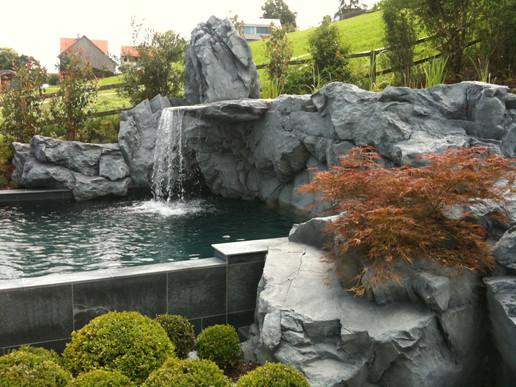 Pool Wasserfall in Appenzell