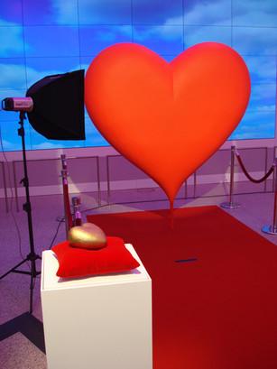 Valentinstag Herz gross