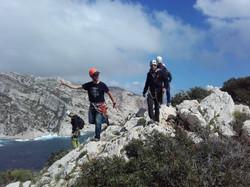 escalade découverte calanques nature entre 2 hauts marseille
