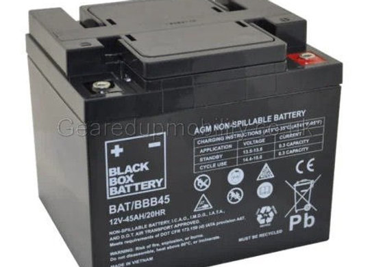 12v 45ah Black Box battery
