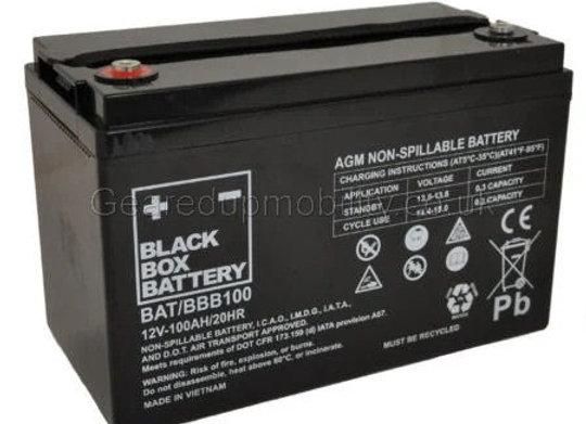 12v 100ah Black Box battery