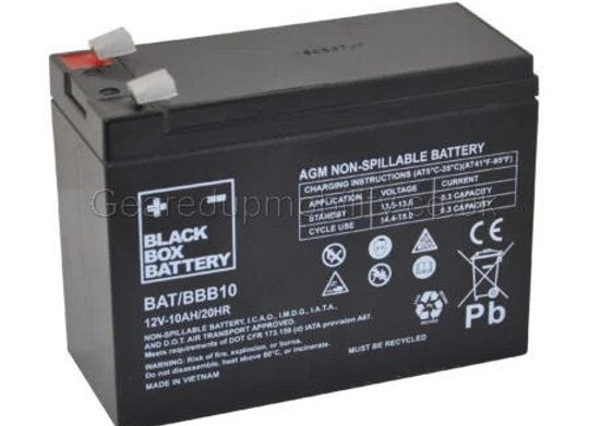12v 10ah Black Box Battery