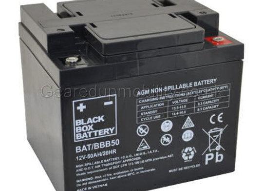 12v 50ah Black Box battery