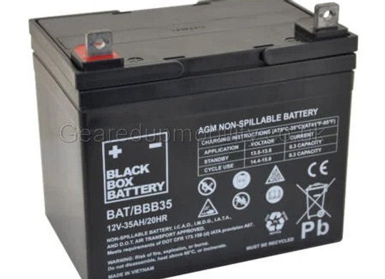 12v 35ah Black Box battery