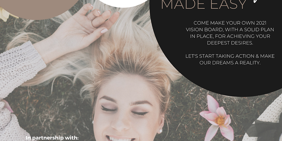 VISION BOARDING Made Easy (Partnering with UniqCreations)