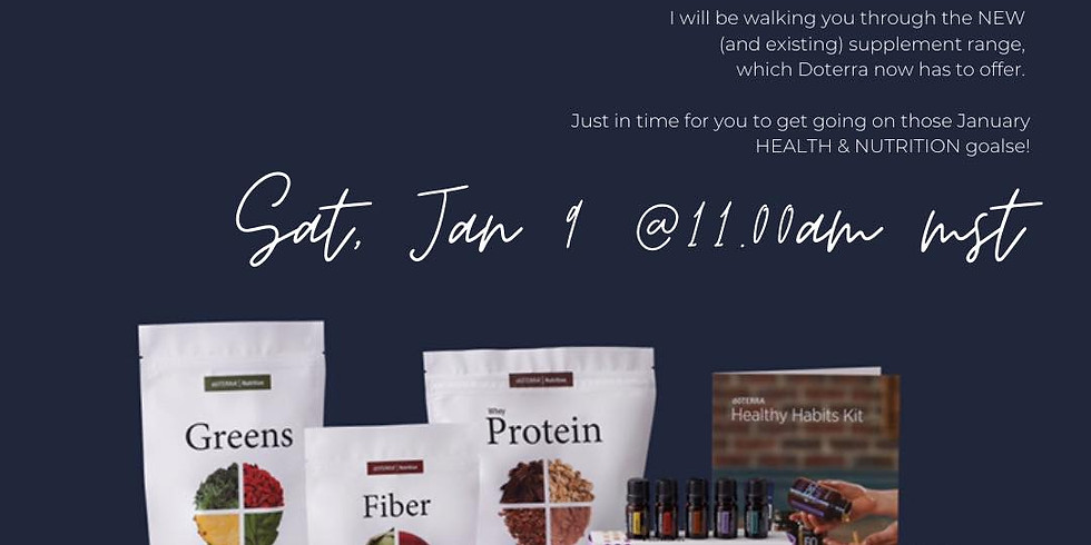 DOTERRA NUTRITION - Product Launch