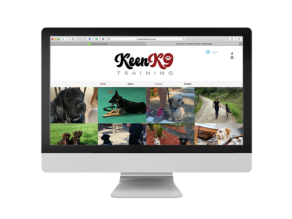 KeenK9 home page.png