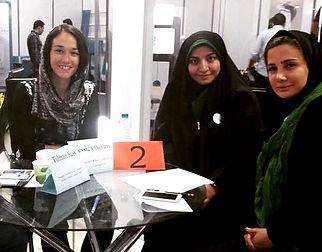 Jessica Berlin strategy advisory with Iranian tech entrepreneurs