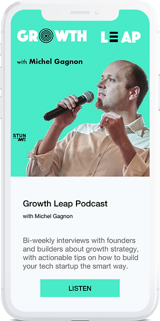 Growth Leap Podcast by stun and awe