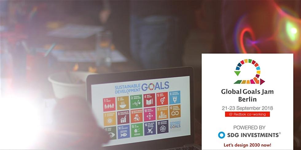 Global Goals Jam Berlin - #Design2030 #Now