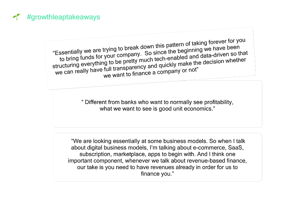 growth leap takeaways - Podcast
