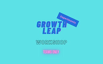 Growth Leap Experiments - Workshops Team Registration