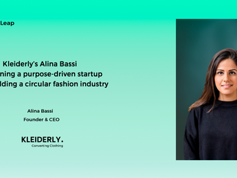 Kleiderly's Alina Bassi on running a purpose-driven startup and building a circular fashion industry