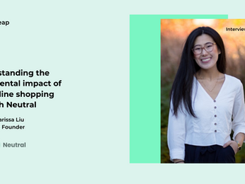 Understanding the environmental impact of your online shopping with Neutral Co-founder Marissa Liu
