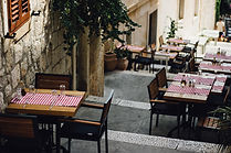 Restaurant setup